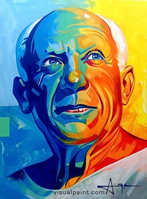 Picasso by Ange Hillz